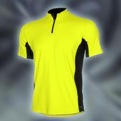 PRO Zipshirt, Neongul