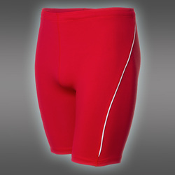 PRO Short Tights, Red/White