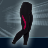 Ws PRO L.Tights, Black/PeachRed