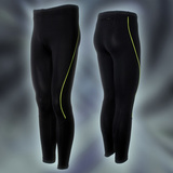 PRO Long Tights, Black/NeonYellow