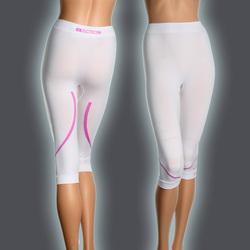 Ws SILVER 3/4 Pants, White/Pink