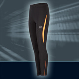 Ws Pulse Winter Tights, Black/Glow