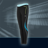 Ws Zent. Acceleration Tights, sort/turkis