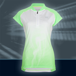 Ws Pulse Zipshirt, Happy/White