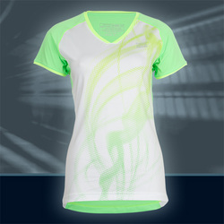 Ws Pulse T-Shirt, Happy/White