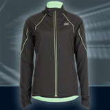 Ws Pulse Jacket, Black/Lime